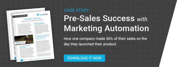 spring loaded case study marketing automation for pre-sales success