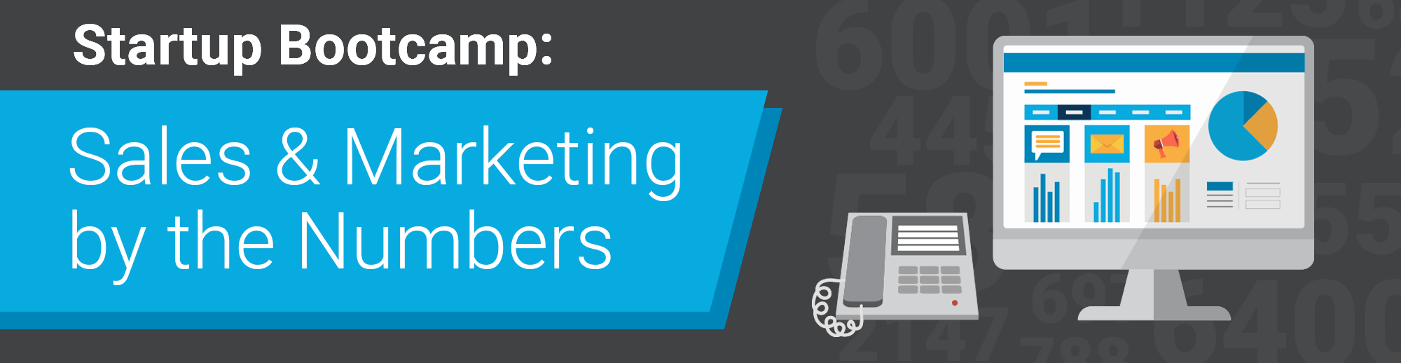 Sales and Marketing by the numbers for startups