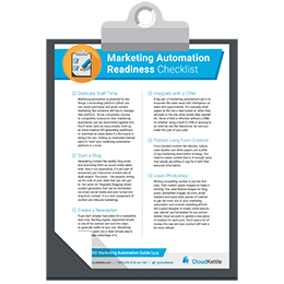 Marketing Automation Readiness Checklist