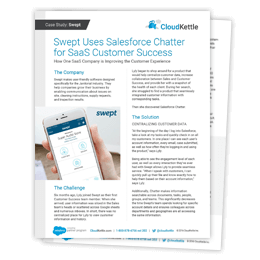 Case Study: Swept Uses Salesforce Chatter for SaaS Customer Success