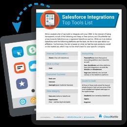 Salesforce Integrations Top Tools List